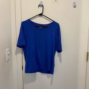 Chico's royal blue short sleeve T-shirt